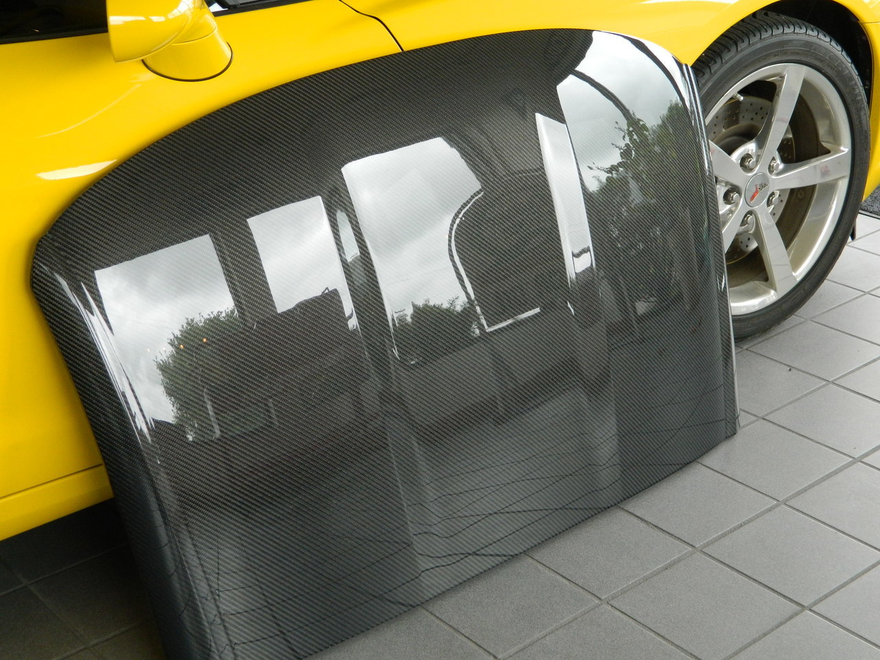 2014 Up C7 Corvette Carbon Fiber Corvette Roof Assembly Outright No Core Required C7 Performance